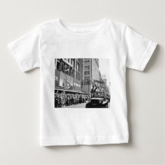 George S. Patton Waving at a Welcome Home Parade Baby T-Shirt