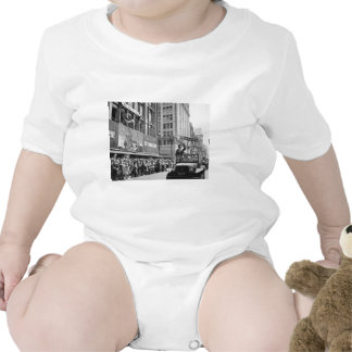 George S Patton Waving at a Welcome Home Parade Romper