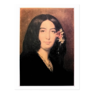 George Sand by Charpentier Postcard