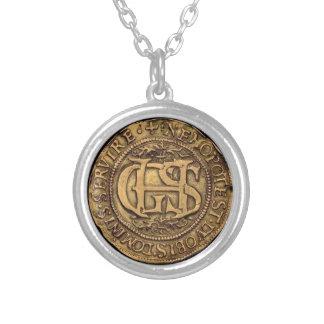 """George Seton Marriage to Hamilton Medallion"" Custom Jewelry"