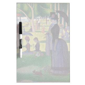 GEORGE SEURAT - A  sunday afternoon 1884 Dry-Erase Board