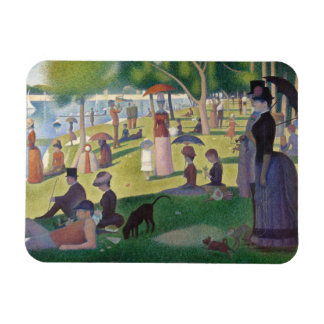 GEORGE SEURAT - A  sunday afternoon 1884 Magnet