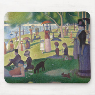 GEORGE SEURAT - A  sunday afternoon 1884 Mouse Pad