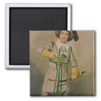 George Smith  as Schampt 2 Inch Square Magnet