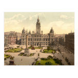 George Square, Glasgow, Scotland Post Card