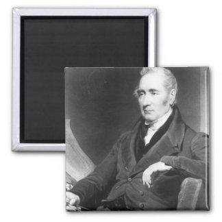 George Stephenson, engraved by Charles Turner Magnet