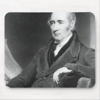 George Stephenson, engraved by Charles Turner Mouse Pad