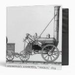 George Stephenson's Locomotive, 'Rocket', 1829 Vinyl Binders