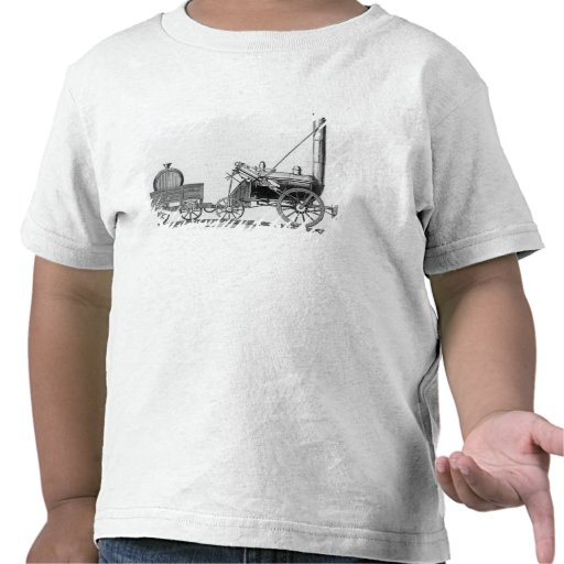 George Stephenson's Locomotive, 'Rocket', 1829 Tees
