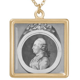George Stubbs (1724-1806) (grey wash on paper) (se Gold Plated Necklace