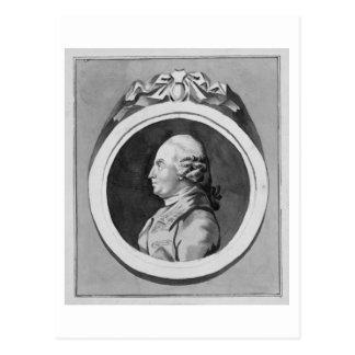 George Stubbs (1724-1806) (grey wash on paper) (se Postcard