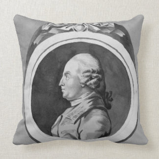 George Stubbs (1724-1806) (grey wash on paper) (se Throw Pillow