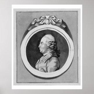 George Stubbs (1724-1806) (lavado gris en el papel Impresiones