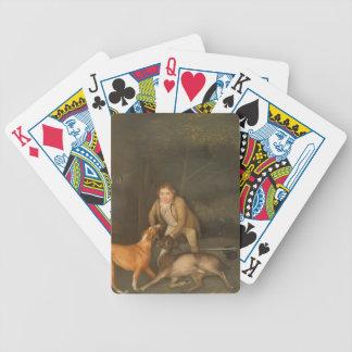 George Stubbs- Freeman con una gama y un perro de  Baraja