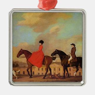 George Stubbs- John and Sophia Musters Ornaments
