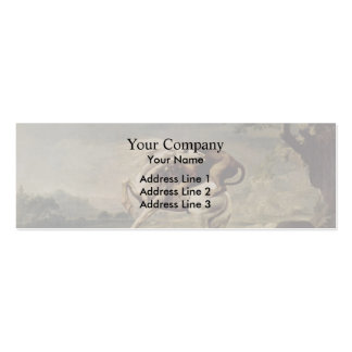 George Stubbs- Lion Attacking a Horse Business Card Templates