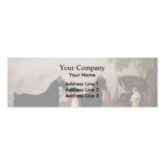 George Stubbs- Prince of Wales Phaeton Business Card