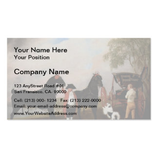 George Stubbs- Prince of Wales Phaeton Business Cards
