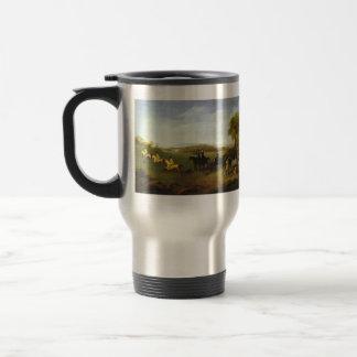 George Stubbs- Racehorses Belonging to the Duke Coffee Mugs