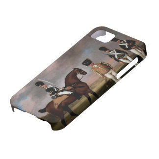George Stubbs- Soldiers of 10th Dragoon Regiment iPhone 5 Case
