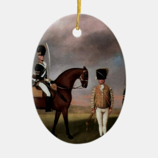 George Stubbs- Soldiers of 10th Dragoon Regiment Christmas Tree Ornament