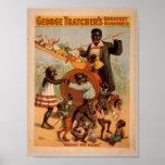 """¡George Thatcher, """"hola! Vintage Theate de mi bebé Posters"""
