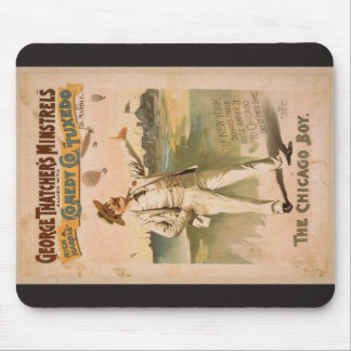 George Thatcher's Minstrels, 'The Chicago Boy' Mouse Pad