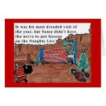 George the Dragon Greeting Card