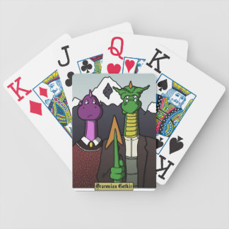 George the Dragon Playing Cards