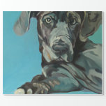 George the Great Dane Wrapping Paper