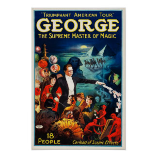 George --The Supreme Master of Magic Poster