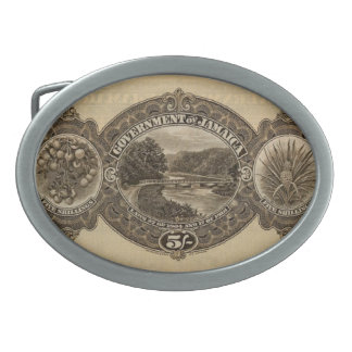 George V 5/- reverse Belt Buckle