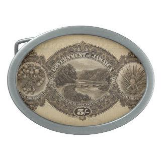 George V 5/- reverse Belt Buckle