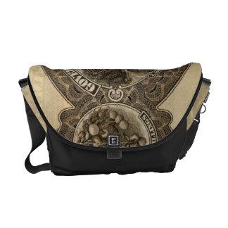 George V 5/- reverse Courier Bag