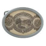 George V 5/- reverse Oval Belt Buckle