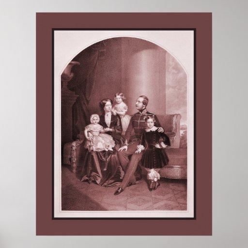 George V de Hannover y de la familia Poster