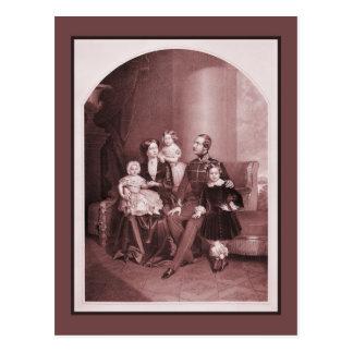 George V de Hannover y de la familia Tarjetas Postales