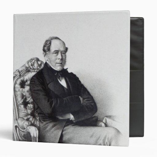 "George Villiers, 4to conde de Clarendon, 1856 Carpeta 1 1/2"""