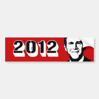 George W Bush 2012 Bumper Stickers