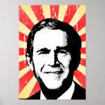 George W Bush 2 Poster