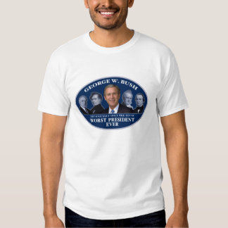 George W. Bush 5th Worst President Shirt