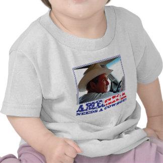 George W Bush - América necesita a un vaquero Camiseta