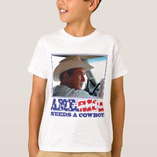 George W Bush - America Needs a Cowboy T-Shirt