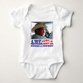 George W Bush - America Needs a Cowboy Tee Shirt