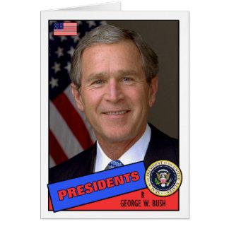 George W. Bush Baseball Card
