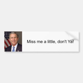 George W. Bush Bumper Stickers