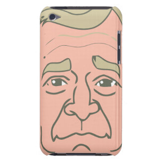 George W. Bush Cartoon Face Barely There iPod Cases