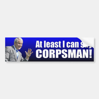 George W. Bush: Corpsman Bumper Sticker