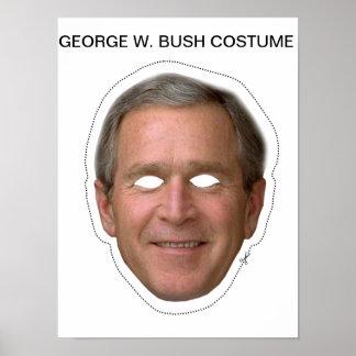 George W. Bush Costume Poster