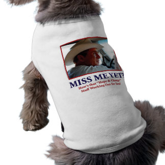 George W. Bush Dog Tee